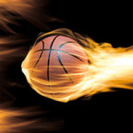 Burning Basketball Passion - DeinDesign